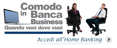 Accedi all'Home Banking